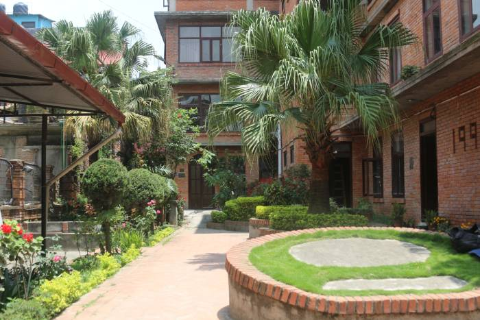 College of Nursing and Hostel entrance